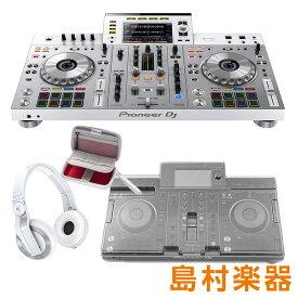 Pioneer DJ XDJ-RX2-W(限定ホワイト) + アクセサリーセット [ダストカバー+ヘッドホン+USBポーチ] [rekordbox dj]ラインセンス付属 一体型DJシステム 【数量限定】 【パイオニア】