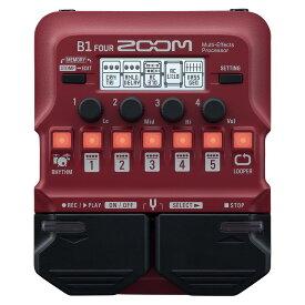 ZOOM B1 FOUR Multi-Effects Processor ベース用マルチエフェクター 【ズーム】