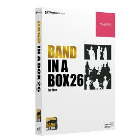 PGmusic Band in a Box 26 for Mac MegaPAK 自動作曲ソフト 【PGミュージック PGBBQMM111】