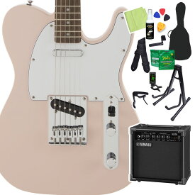 Squier by Fender FSR Affinity SeriesTelecaster Shell Pink 初心者14点セット 【ヤマハアンプ付き】 エレキギター ストラトキャスター 【スクワイヤー / スクワイア】