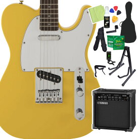 Squier by Fender FSR Affinity SeriesTelecaster Graffiti Yellow 初心者14点セット 【ヤマハアンプ付き】 エレキギター テレキャスター 【スクワイヤー / スクワイア】
