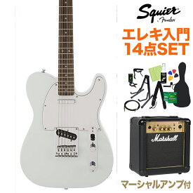 Squier by Fender FSR Affinity SeriesTelecaster Sonic Blue 初心者14点セット 【マーシャルアンプ付き】 エレキギター テレキャスター 【スクワイヤー / スクワイア】