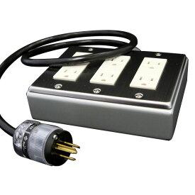 PRO CABLE BTAP6-100 電源タップ 超越重鉄タップ 6個口 1m 【プロケーブル】