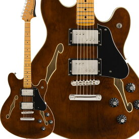 Squier by Fender Classic Vibe Starcaster Maple Fingerboard Walnut スターキャスター 【スクワイヤー / スクワイア】
