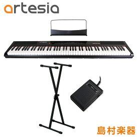 Artesia Performer X型スタンドセット 電子ピアノ フルサイズ セミウェイト 88鍵盤 【アルテシア パフォーマー】【初心者向け】【オンラインストア限定】