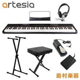 Artesia Performer X型スタンド・ペダル・Xイス・ヘッドホンセット 電子ピアノ フルサイズ セミウェイト 88鍵盤 【アルテシア パフォーマー】【初心者向け】【オンラインストア限定】