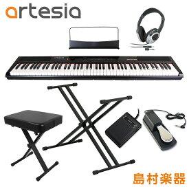 Artesia Performer ダブルX型スタンド・ペダル・Xイス・ヘッドホンセット 電子ピアノ フルサイズ セミウェイト 88鍵盤 【アルテシア パフォーマー】【初心者向け】【オンラインストア限定】