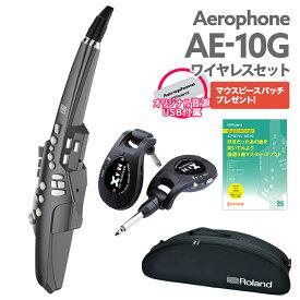 Roland AE-10G ワイヤレスセット ウインドシンセサイザー 【ローランド エアロフォン ライブ、練習に便利なワイヤレス】