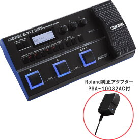 BOSS GT-1 Roland純正アダプターセット マルチエフェクター GT1 + PSA100S2 【ボス GT-1 + PSA-100S2】