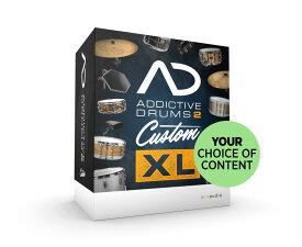[数量限定] XLN Audio Addictive Drums2 custom XL ドラム音源 【XLNオーディオ】