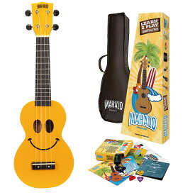 MAHALO Learn 2 Play Pack U-SMILE YWK ユースマイル ソプラノウクレレ 初心者セット 【マハロ】