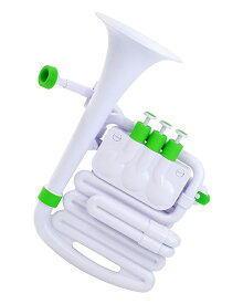 NUVO jHorn White/Green ホワイト グリーン プラスチック管楽器 【ヌーボ Jホーン】