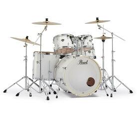 Pearl EXPORT EXX725S/C-2CSN #33 Pure White ドラムセット 2クラッシュ【バスドラム22インチ】 【パール エクスポート】