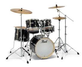 Pearl EXPORT EXX785/C Jet Black ジュニアサイズ ドラムセット シンバル付 【バスドラム18インチ】 【パール エクスポート】