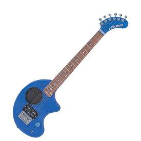 FERNANDES ZO-3 2019 W/SC BLU スピーカー内蔵ミニエレキギター ブルー 【フェルナンデス】