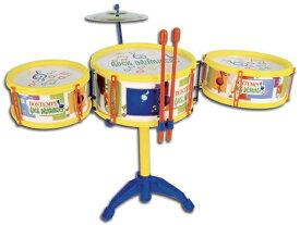 BONTEMPI おもちゃのドラム ドラムセット 3pcs 【ボンテンピ キッズ 子供 プレゼント 楽器】