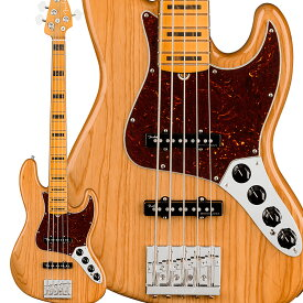 Fender American Ultra Jazz Bass V Maple Fingerboard Aged Natural ジャズベース 【フェンダー】