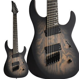 Legator Performance Series NINJA Fanned 7 Bocote Top Black Burst 7弦ギター マルチスケール 【レガター NRF7P】