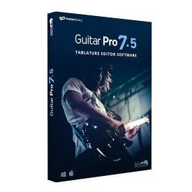 AROBAS MUSIC Guitar Pro7.5 日本語版 タブ譜 スコア編集ソフト 【アロバスミュージック】