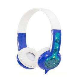 onanoff BuddyPhones Discover Blue 子供用 ヘッドホン キッズヘッドホン 【オナノフ】