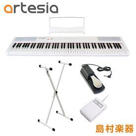 Artesia Performer WH X型スタンド・ペダルセット 電子ピアノ フルサイズ セミウェイト 88鍵盤 【アルテシア パフォーマー】【初心者向け】【オンラインストア限定】