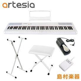 Artesia Performer WH X型スタンド・ペダル・Xイスセット 電子ピアノ フルサイズ セミウェイト 88鍵盤 【アルテシア パフォーマー】【初心者向け】【オンラインストア限定】