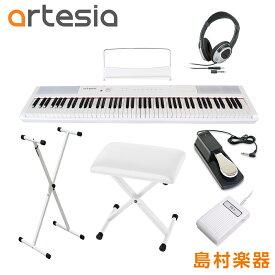 Artesia Performer WH X型スタンド・ペダル・Xイス・ヘッドホンセット 電子ピアノ フルサイズ セミウェイト 88鍵盤 【アルテシア パフォーマー】【初心者向け】【オンラインストア限定】