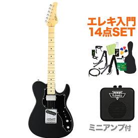 FUJIGEN BIL2-M-HS BK エレキギター初心者14点セット 【ミニアンプ付き】 テレキャスタイプ 【フジゲン】【オンラインストア限定】