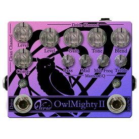 Vivie OwlMighty II 大人気 ベース用プリアンプ がアップデート! 【ヴィヴィ】