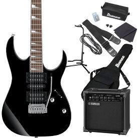 Gio Ibanez GRG170DX BKN (Black Night) エレキギター 初心者セット ヤマハアンプ付き 【ジオ アイバニーズ】