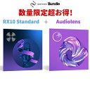 【数量限定 超得セット】 iZotope RX8 Standard + Ozone9 Elements 【アイゾトープ】