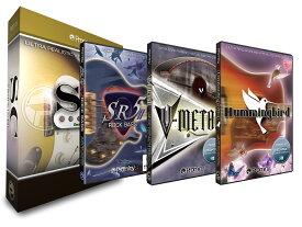 [特価 2020/08/29迄] Prominy Hummingbird & V-METAL & SR5 Rock Bass 2 & SC エレクトリック・ギター コンプリートバンドル 【プロミニー】