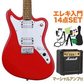 GrassRoots G-TK-STD Trino Red エレキギター初心者14点セット【マーシャルアンプ付き】 【グラスルーツ】