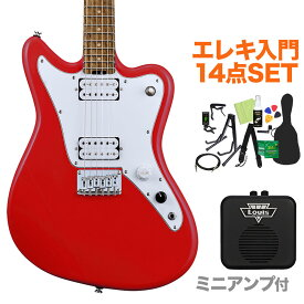 GrassRoots G-TK-STD Trino Red エレキギター初心者14点セット 【ミニアンプ付き】 【グラスルーツ】