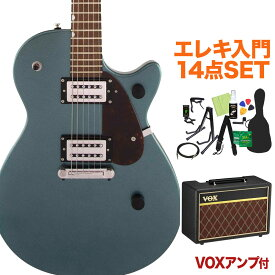 GRETSCH G2210 JuniorJetClub Gunmetal エレキギター 初心者14点セット【VOXアンプ付き】 【グレッチ】