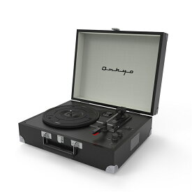ONKYO Classic Series OCP-01 (Mystic Black) ポータブルレコードプレーヤー Bluetooth搭載 【オンキョー】