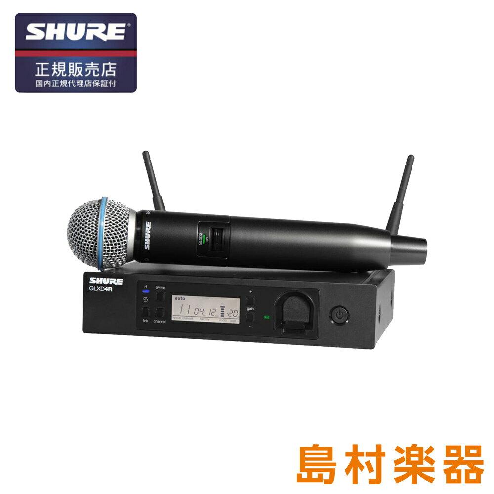SHURE GLXD24RJ/B58-Z2 GLXD24R / BETA58A システムセット(ボーカリスト・ワイヤレス) 【シュア】【国内正規品】