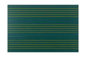 全音 ZMM-66 音楽五線譜黒板マグネットシート帯 (8枚組) 【ゼンオン】