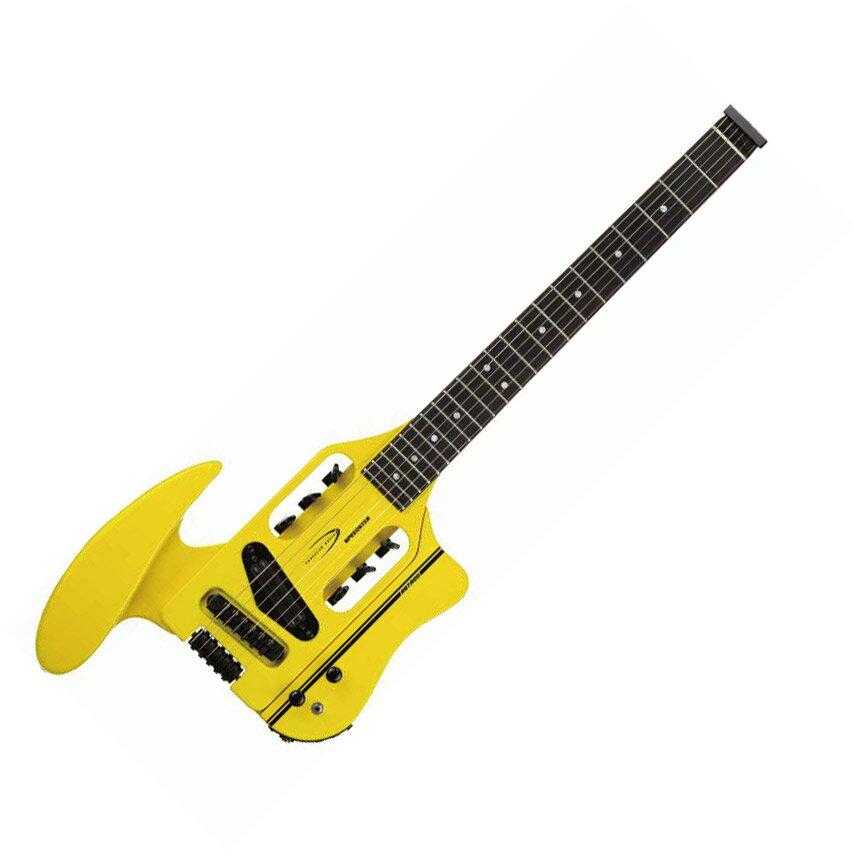 Traveler Guitar Speedster Hot Rod V2 Yellow エレキギター 【トラベラーギター】