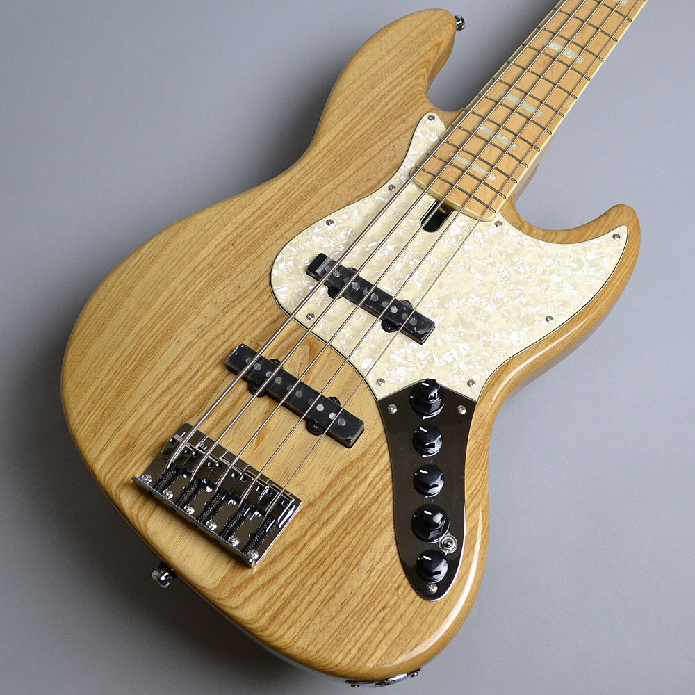Sire Marcus Miller V7 5ST Swamp Ash / Natural ジャズベースタイプ 【サイアー】【アクティブ5弦】