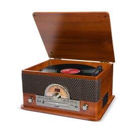ION AUDIO Superior LP レトロ調 レコードプレーヤー Bluetooth対応 【 カセットテープ / CD / ラジオ / USB】対応 【アイオンオーディオ】【津田沼パルコ店】