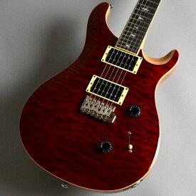 PRS SE Custom24 Quilted Maple/Black Cherry【S/N:U00645】 エレキギター 【ポールリードスミス(Paul Reed Smith)】【新宿PePe店】