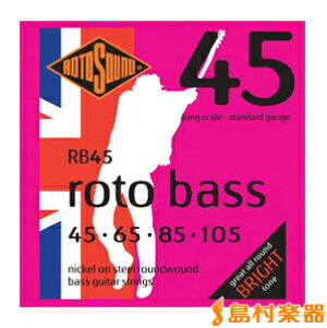 ROTOSOUND RB45 エレキベース弦/045-105 【ロトサウンド】
