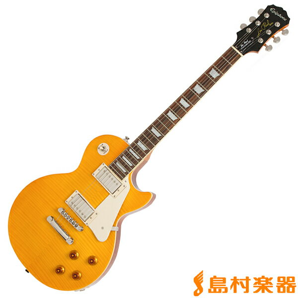 Epiphone Limited Edition Les Paul Standard Plustop PRO Antique Natural レスポール スタンダード エレキギター 【エピフォン】