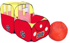 クルマデザイン キッズテント 車型 室内 屋外 バーベキュー 遊具 ボールプール 折りたたみ 80×90×150cm ベビーゲート ベビールーム 赤ちゃん 新生児 幼児 育児 送料無料 お誕生日 出産祝い プレゼント ギフト こどもの日 くるま クリスマス