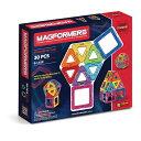 マグフォーマー 30ピース スタンダードセット おもちゃ MAGFORMERS レインボーセット マグネットブロック 知育玩具 想…