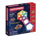 マグフォーマー 62ピースセット MAGFORMERS スタンダードセット マグネットブロック 創造力を育てる知育玩具 想像力 …