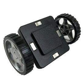 【訳あり 型落ち品】マグプレイヤー Magplayer 車輪アクセサリー タイヤ 車パーツ 2ピースセット シルバータイヤ 単品 ばら売り くるま 追加 お試しパック 補充パック マグネットブロック 創造力を育てる知育玩具 想像力 磁石 こどもの日