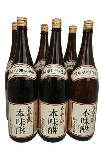 玉泉白瀧 国産米本みりん 1800mlx6本セット<玉泉堂酒造(株)>