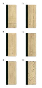 木製メニューブック リングファイル名入無料サービス!(条件付)メニューブック 木目調プリント 【スリム-B-SHO-103・UV-WHITEWOOD】バインダー 縦長 たて長 木製